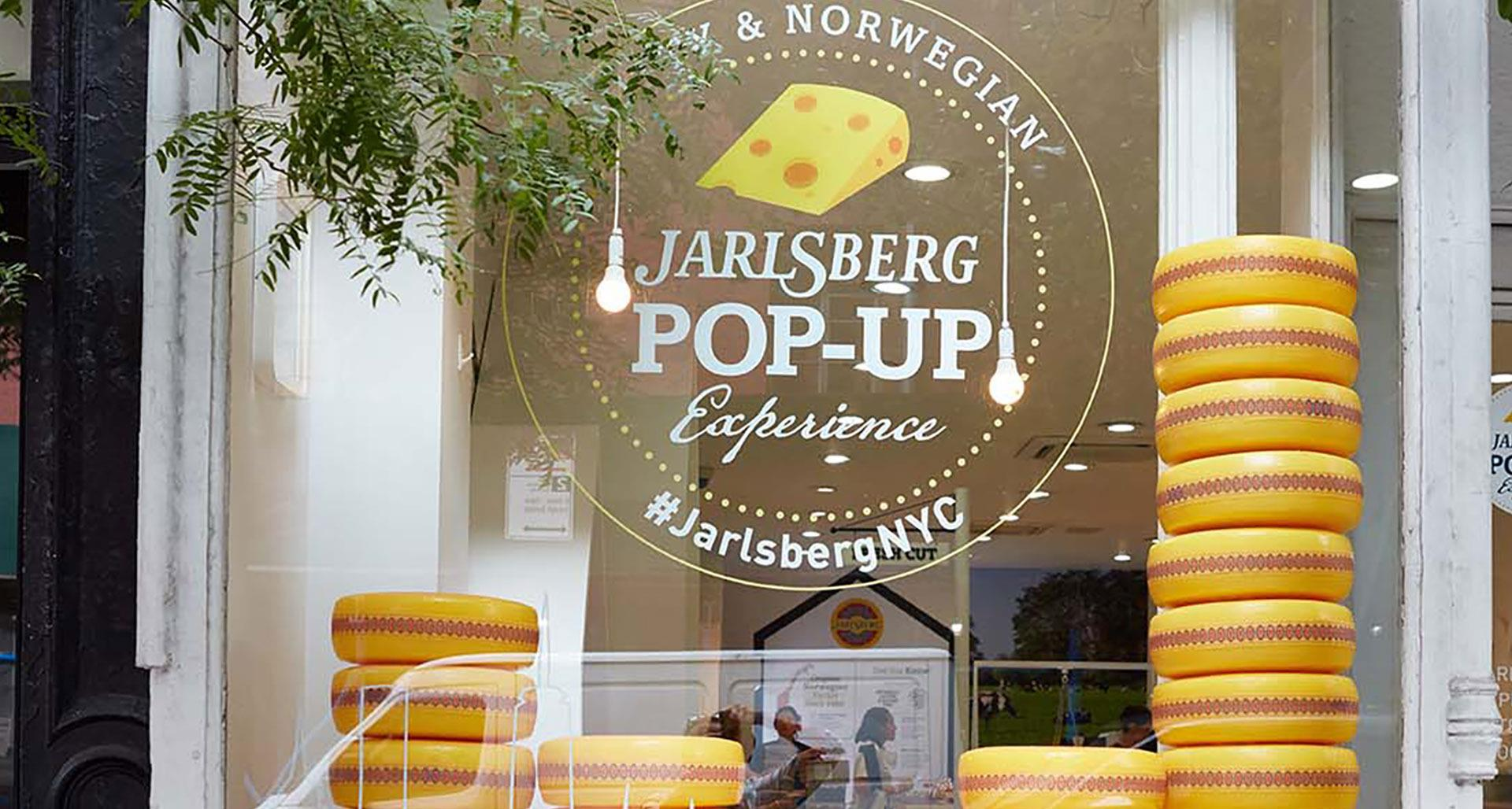 Jarlsberg® Cheese Launches First-Ever Pop-Up (2018)