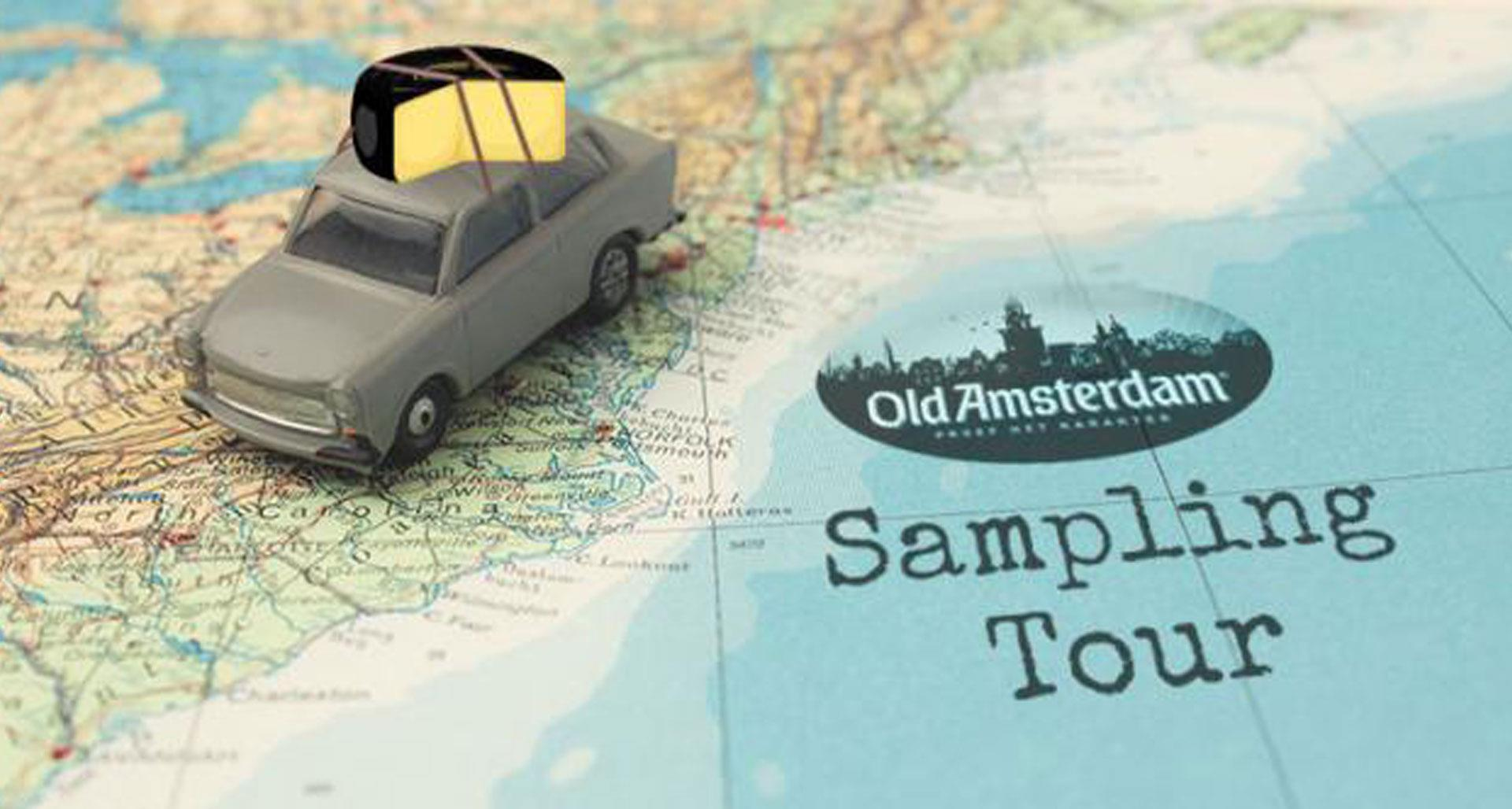 Old Amsterdam Launches Grassroots Sampling Tour